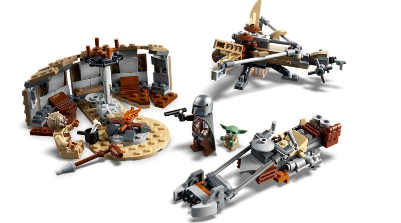 LEGO 75299 Trouble on Tatooine Banner
