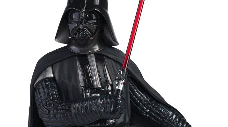 New Darth Vader Mini Bust From Gentle Giant