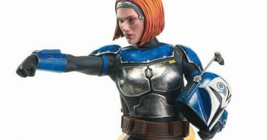 Premier Collection Bo Katan Statue From Gentle Giant