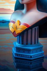 DST L3D JLA Animated Wonder Woman Base