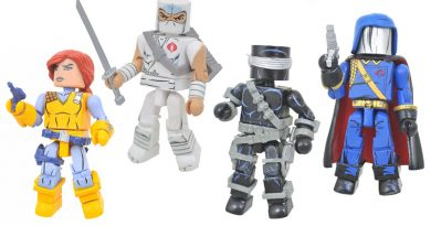 G.I. Joe Minimates, The Crow, Marvel Figures And Statues Pre-orders From Diamond Select