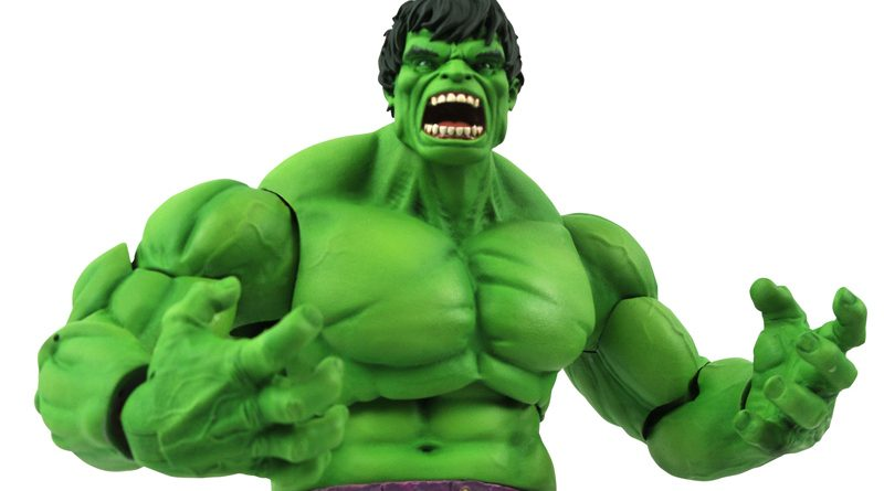 DST Marvel Select Immoral Hulk Banner