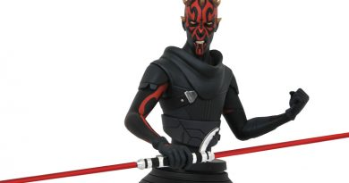 Animated Darth Maul Bust From Gentle Giant