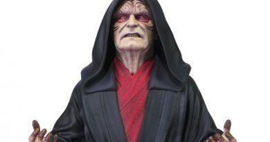 Rise of Skywalker Emperor Palpatine Bust By Gentle Giant