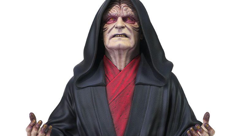 GG Star Wars TROS Emperor Bust Banner