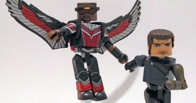 The Falcon and the Winter Soldier Hit Walgreens as Minimates Mini-Figures