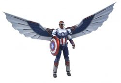 DST Marvel Select TFatWS Captain America Falcon