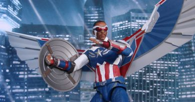 Marvel Select Falcon And Winter Soldier Exclusives At The Disney Store
