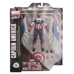 DST Marvel Select TFatWS Captain America Falcon Pkg