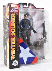 DST Marvel Select Winter Soldier Pkg