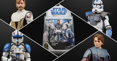 Hasbro Black Series Clone Wars Figures Celebrate Lucasfilm's 50th Anniversary