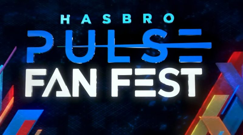 Hasbro Pulse Fan Fest April 9 2021 Banner
